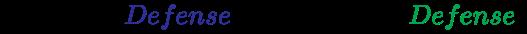 {\displaystyle {\left(Original~{\color {Blue}Defense}\times 1.10=new~{\color {Green}Defense}\right)}}