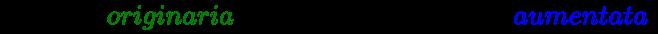 {\displaystyle \left({Difesa\ {\color {green}originaria}\times 1,20=20\%\ Difesa\ {\color {blue}aumentata}}\right)}