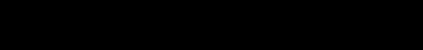 {\displaystyle \forall n\in \mathbb {N} \;\forall q\in \mathbb {R} \setminus \{1\}\quad 1+q+\cdots +q^{n}={\frac {1-q^{n+1}}{1-q}}.}